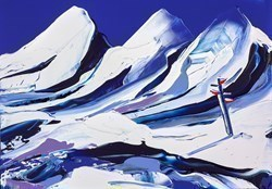 The Highest Peaks by Duncan MacGregor -  sized 17x12 inches. Available from Whitewall Galleries